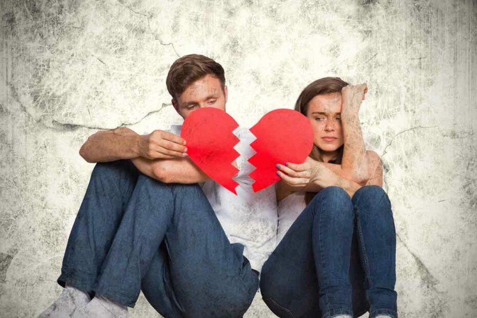 Was sollte man nach einer Trennung nicht tun